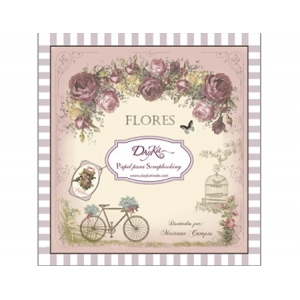 DayKa Trade Flores 8x8 Inch Paper Pad