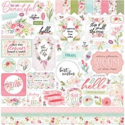 Carta Bella Flora No.3 12x12 Inch Element Sticker