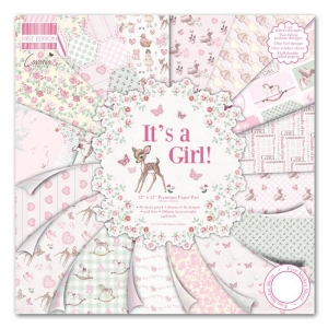 """First Edition 12""""x12"""" Pad - It's a Girl"""