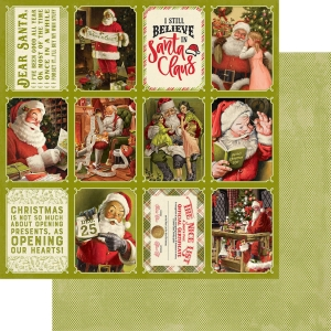 Authentique A Magical Christmas 12x12 Inch Paper Pad