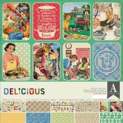 Authentique Delicious 12x12 Inch Collection Kit (DLC008)