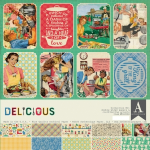 Authentique Delicious 12x12 Inch Collection Kit