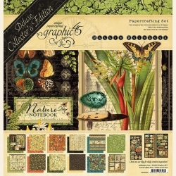 Graphic 45 Nature Notebook 12x12 Inch Deluxe Collector's Edition