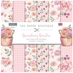 Paper Boutique • Grandma's garden 203x203cm paper pad