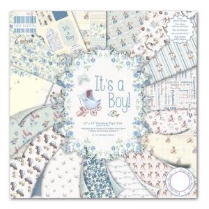 "First Edition 12""x12"" Pad - It's a Boy"
