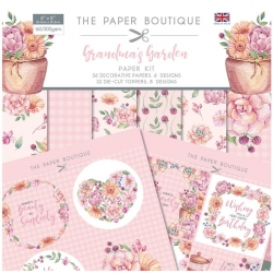 Paper Boutique • Grandma's garden paper kit