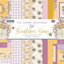 Paper Boutique • Bumblebee's Dance card making pad