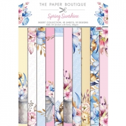 Paper Boutique • Spring sunshine Insert collection