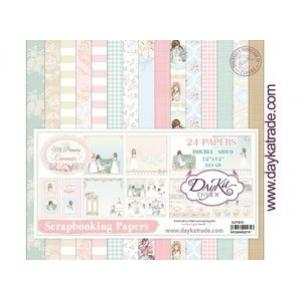 Dayka Mi Primera Comunión Niña 12x12 Inch Paper Pack