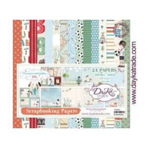 Dayka Momentos inolvidable Niño 12x12 Inch Paper Pack