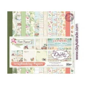 Dayka Fiesta Tropical 12x12 Inch Paper Pack