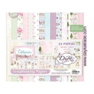 Dayka Celebracion Nina 12x12 Inch Paper Pack