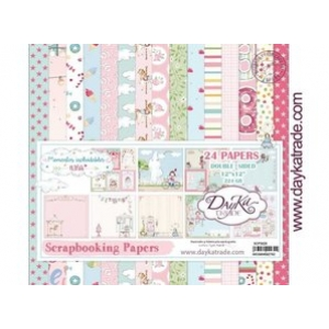 Dayka Momentos inolvidable Niña 12x12 Inch Paper Pack