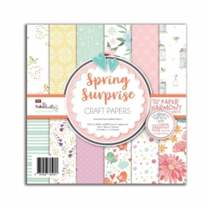 Polkadoodles Spring Surprise 6x6 Inch Paper Pack