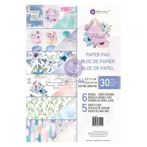 Prima Marketing Watercolor Floral A4 Paper Pad