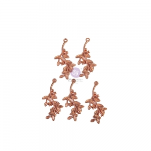Prima Marketing Watercolor Floral Metal Charms