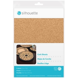 Silhouette Cork Sheets
