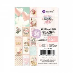 Prima Marketing Magic Love 3x4 Inch Journaling Cards