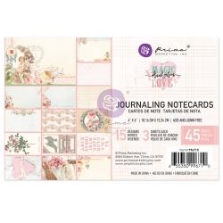 Prima Marketing Magic Love 4x6 Inch Journaling Cards