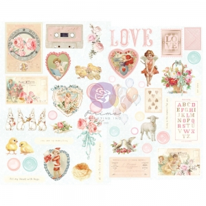 Prima Marketing Magic Love Chipboard Stickers