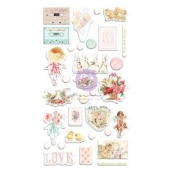 Prima Marketing Magic Love Puffy Stickers