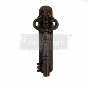 Re-Design with Prima Cast Iron Vintage Knocker Imperial Key