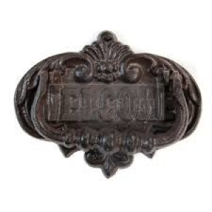 Re-Design with Prima Cast Iron Vintage Knocker Welcome To Our Home