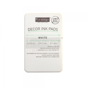 Re-Design with Prima Decor Magnetic Ink Pad White