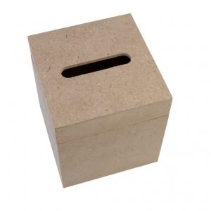 Re-Design with Prima MDF Tissue Box 5.5x5x4.75 Inch