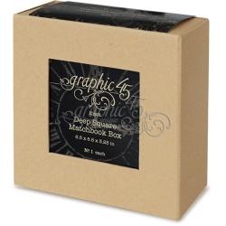 Graphic 45 Deep Square Matchbook Box (4501519)