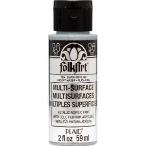 FolkArt • Multi-Surface metallic Sterling silver 59ml