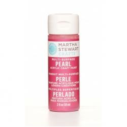Martha Stewart paint 59ml. pearl fruit punch