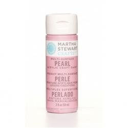 Martha Stewart paint 59ml. pearl pink taffeta