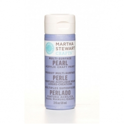 Martha Stewart paint 59ml. pearl twilight blue