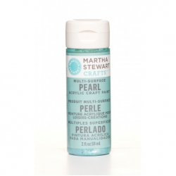 Martha Stewart paint 59ml. pearl aquarium