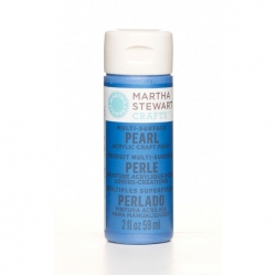 Martha Stewart paint 59ml. pearl cornflower