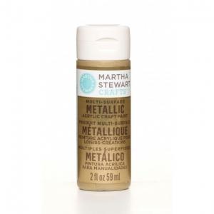 Martha Stewart paint 59ml. metallic gold