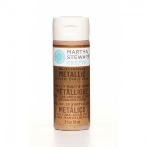 Martha Stewart paint 59ml. metallic copper