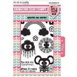 Uchi's Design Animation Clear Stamps Sunshine