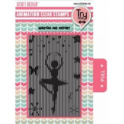 Uchi's Design Animation Clear Stamp Ballerina