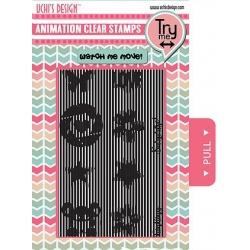 Uchi's Design Animation Clear Stamp Essentials