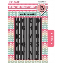 Uchi's Design Animation Clear Stamps ABC