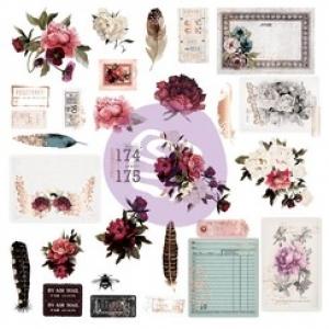 Prima Marketing Midnight Garden Ephemera 1