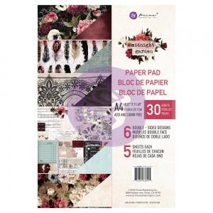 Prima Marketing Midnight Garden A4 Paper Pad