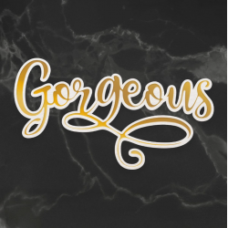 Couture Creations Gorgeous Cut, Foil and Emboss Die