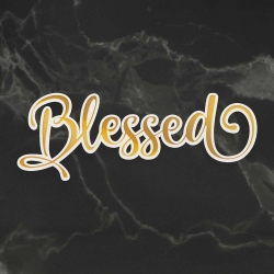 Couture Creations Blessed Cut, Foil and Emboss Die