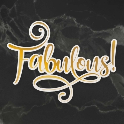 Couture Creations Fabulous Cut, Foil and Emboss Die