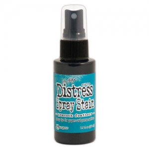 Ranger Distress Spray Stain Peacock Feathers