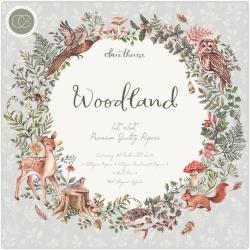 Craft Consortium Woodland 12x12 Inch Paper Pad