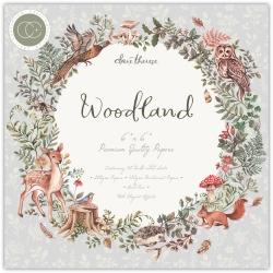 Craft Consortium Woodland 6x6 Inch Paper Pad